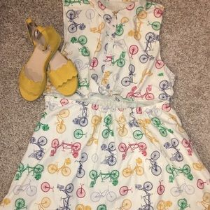 ModCloth Bicycle Picnic Dress